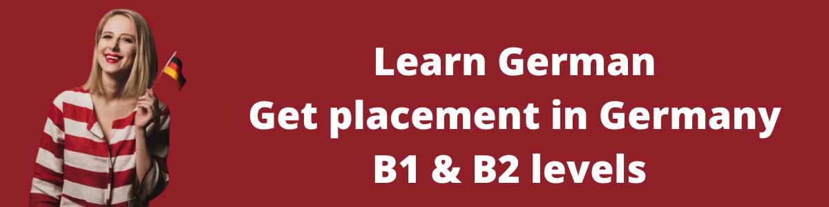 B1 B2 level in German in Delhi