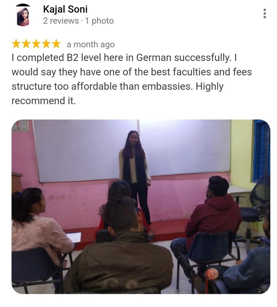 Best German Institute in delhi