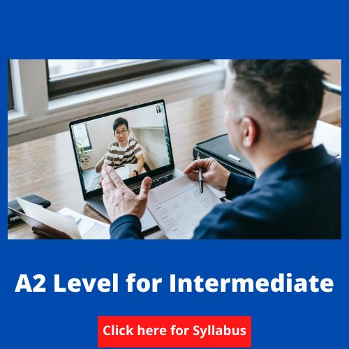 A2 Level for intermediate