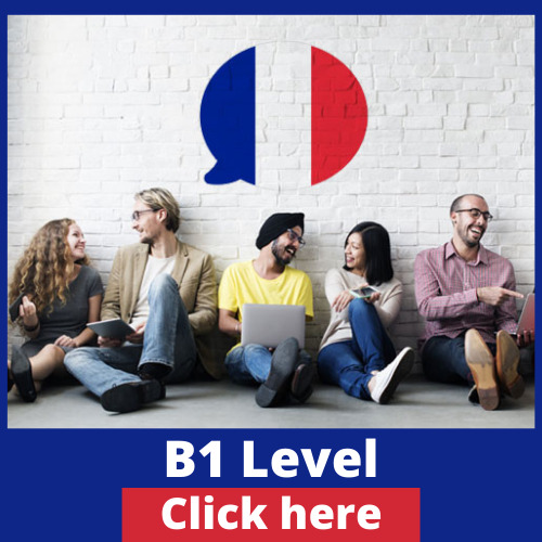 B1 Level in French Online